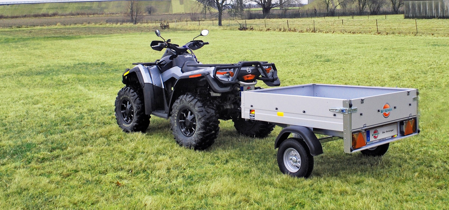 Ideal für Quad / ATV